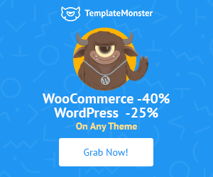 WooCommerce WordPress TemplateMonster